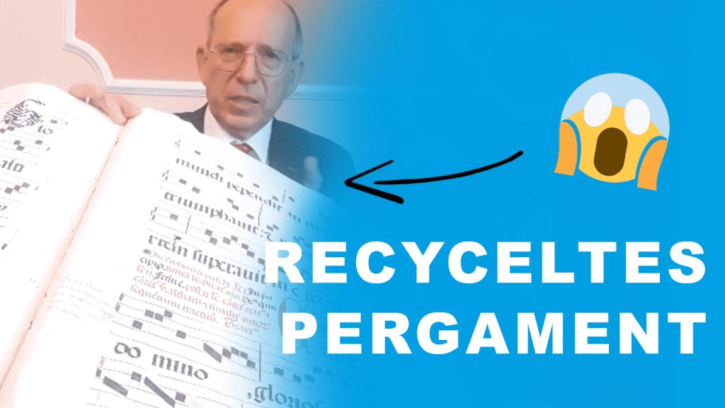 Recycling und Pergament: Nachhaltigkeit Teil 3